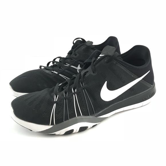 official photos 5d5a4 c54cf Nike Free Run TR 6 Training Athletic Sneaker Black
